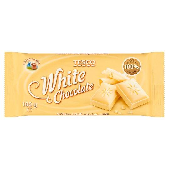 Tesco White Chocolate 100 g