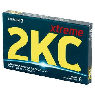 Colfarm 2KC Xtreme Dietary Supplement 6 Tablets