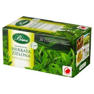 Bifix Zielona oryginalna Herbata ekspresowa 40 g (20 saszetek)