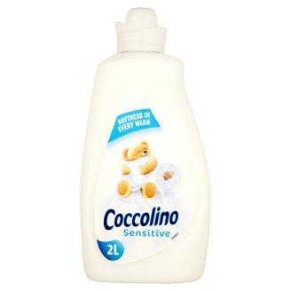 Coccolino Sensitive Płyn do płukania tkanin koncentrat 2 l (57 prań)