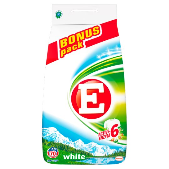 E White Washing Powder 4.9 kg (70 Washes)