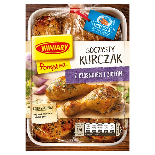 Winiary Pomysł na... Juicy Chicken with Garlic and Herbs 30 g