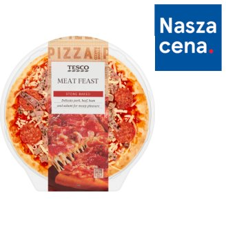 Tesco Meat Feast Pizza 394 g