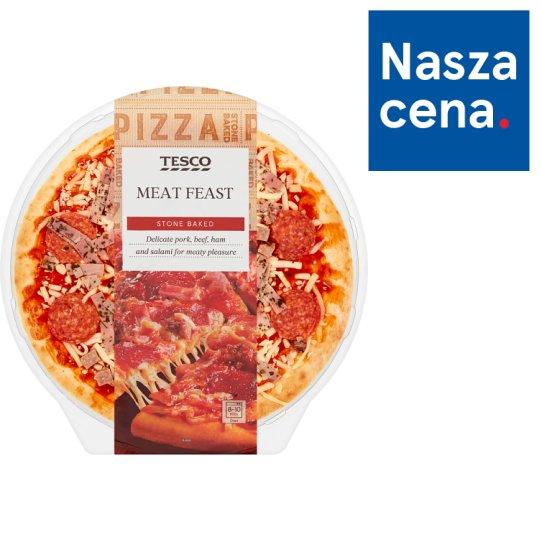 Tesco Meat Feast Pizza 394 g