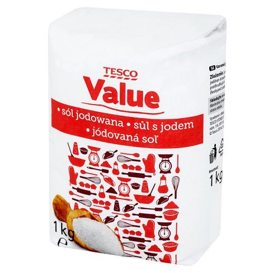Tesco Value Sól jodowana 1 kg