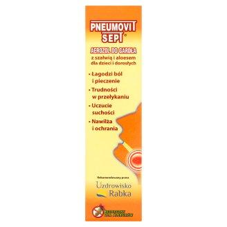Pneumovit Sept Aerozol do gardła 35 ml