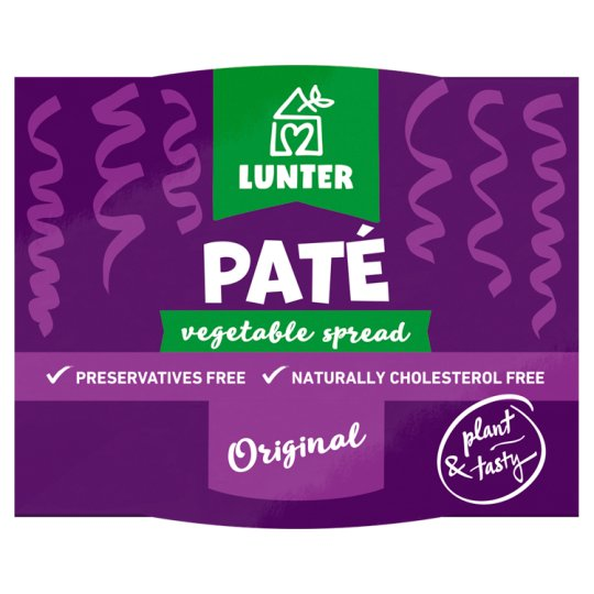 Lunter Vegetable Paste Pate 115 g
