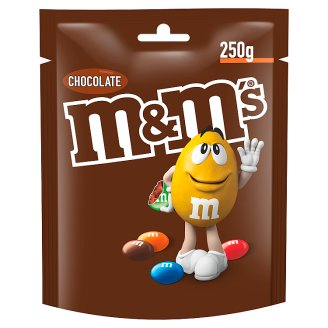 M&M's Chocolate Milk Chocolate in Colorful Shells 250 g