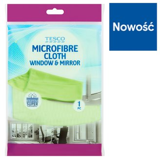 Tesco Window & Mirror Microfibre Cloth