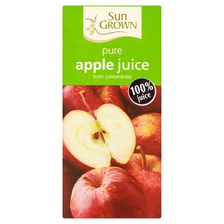 Sun Grown Pure Apple from Concentrate Juice 1 L