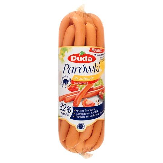 Duda Pork in Water Brine Thin Sausages 510 g