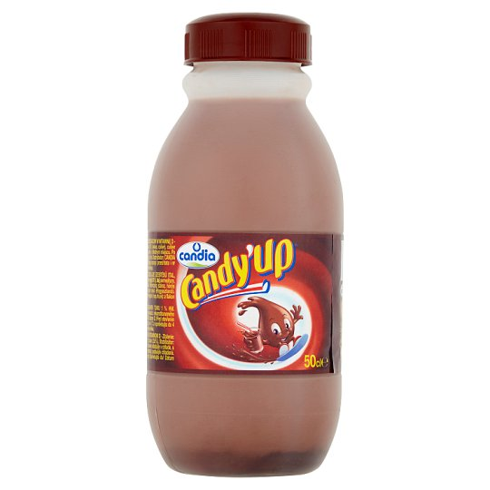 Candia Candy'Up Napój mleczny o smaku czekoladowym 50 cl