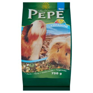 Delicious Pepe Complete Food for Guinea Pigs 750 g