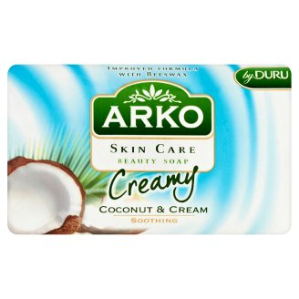 Arko Skin Care Coconut and Cream Soothing Beauty Soap 90 g