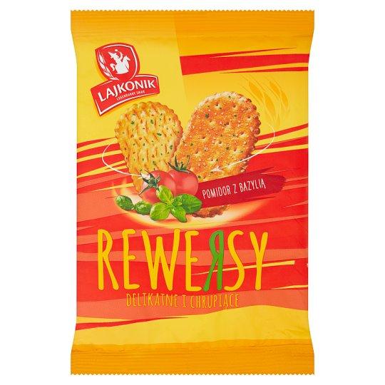 Lajkonik Rewersy Pretzel Cracker with Tomato and Basil 90 g