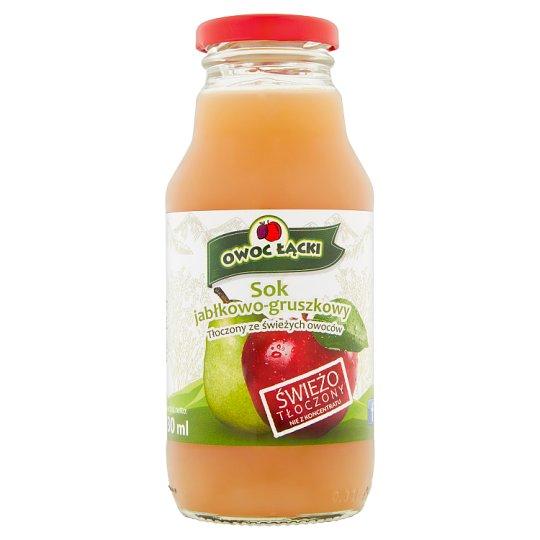 Owoc Łącki Apple Pear Juice 330 ml