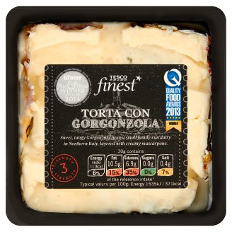 Tesco Finest Torta Con Gorgonzola Cheese 200 g