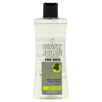 Biały Jeleń for Men Toning Birch Sap Hypoallergenic Body Wash & Intimate Hygiene Gel 265 ml