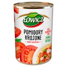 Łowicz Skinless Sliced Tomatoes 400 g