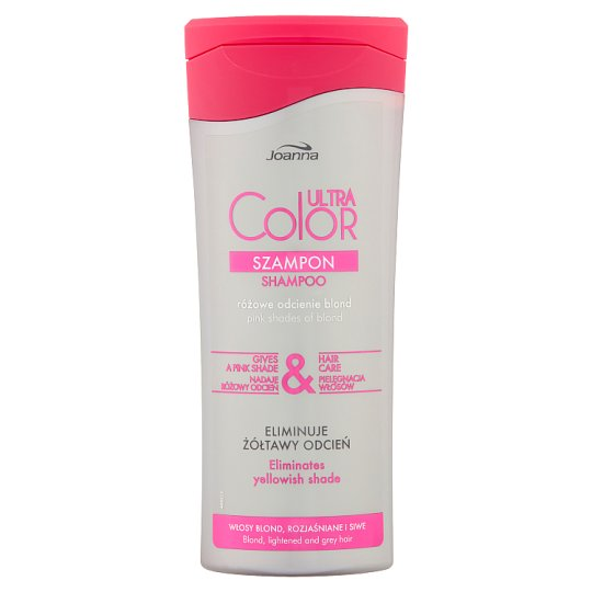 Joanna Ultra Color System Shampoo for Blond Lightened and Grey Hair 200 ml