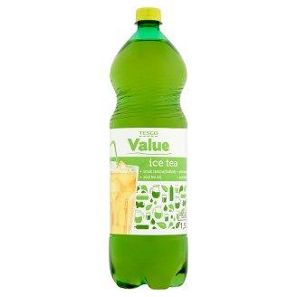 Tesco Value Ice tea Napój o smaku zielonej herbaty 1,5 l