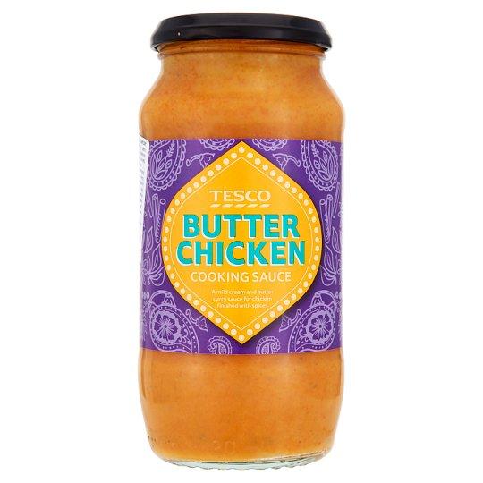 Tesco Śmietanowo-maślany sos curry do kurczaka z przyprawami łagodny 500 g