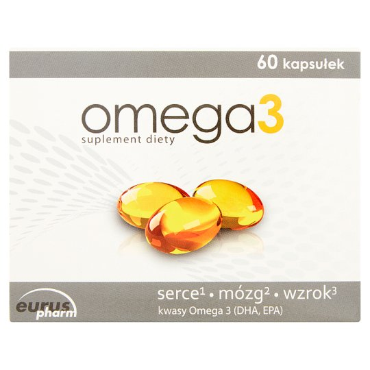 Omega 3 Dietary Supplement 40.8 g (60 Capsules)