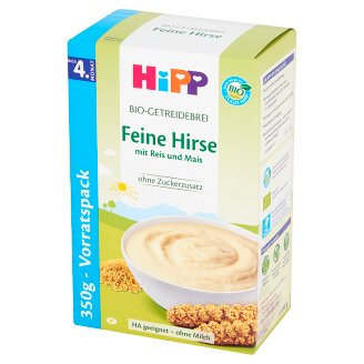 HiPP BIO Millet Groats with Rice and Corn for Newborns after 4. Months Onwards 350 g