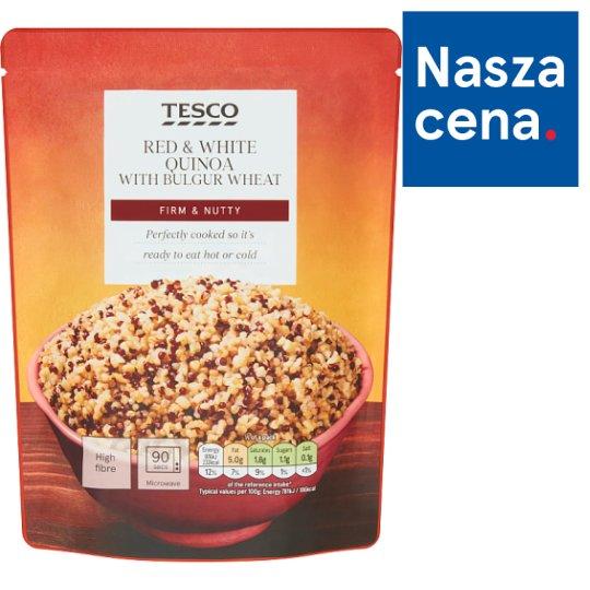Tesco Mieszanka komosy białej pszenicy bulgur i komosy czerwonej 250 g