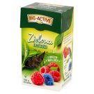 Big-Active Green Leaf Tea with Raspberry Fruit 100 g