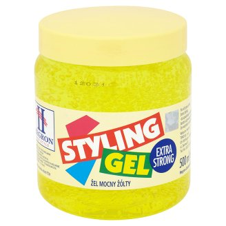 Hegron Yellow Extra Strong Styling Gel 500 ml