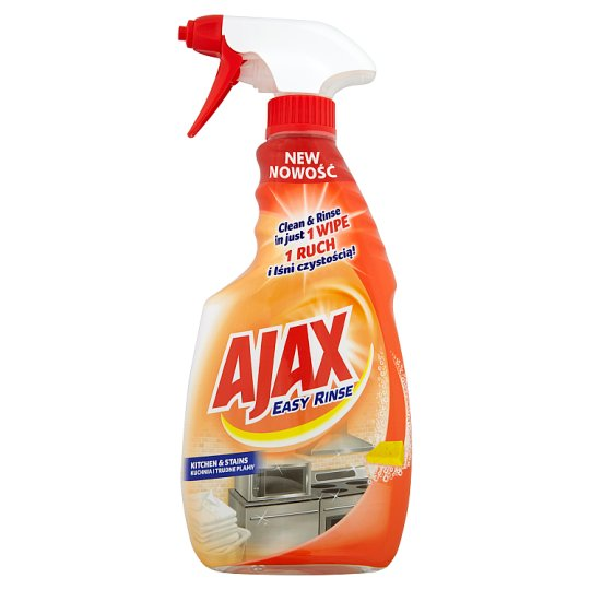 Ajax Easy Rinse Kitchen & Stains Cleaner 500 ml