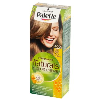 Palette Permanent Natural Colors Creme Farba do włosów Średni blond 400