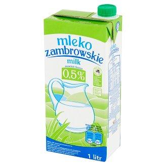 Mleko zambrowskie UHT 0,5% 1 l