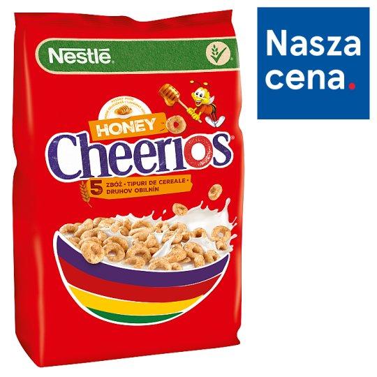 Nestlé Cheerios Miodowy Honey Breakfast Cereals 500 g