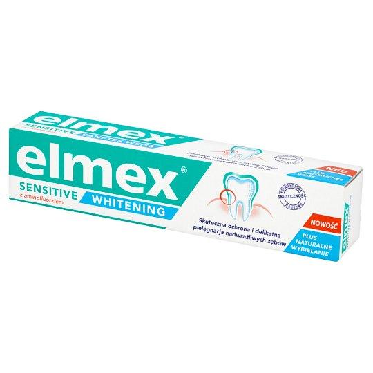 Elmex Sensitive Whitening z aminofluorkiem Pasta do zębów 75 ml