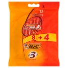 Bic 3 Sensitive Disposable Razors 12 Pieces