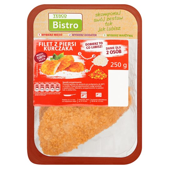 Tesco Bistro Chicken Brest Fillet 250 g