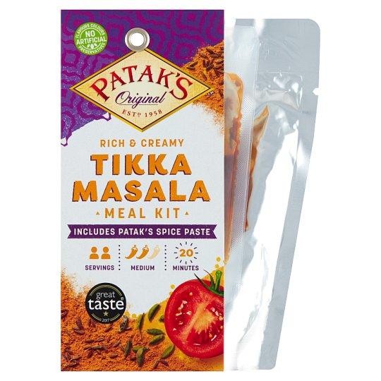 Patak's Zestaw Tikka Masala do przygotowania dania w stylu indyjskim 313 g