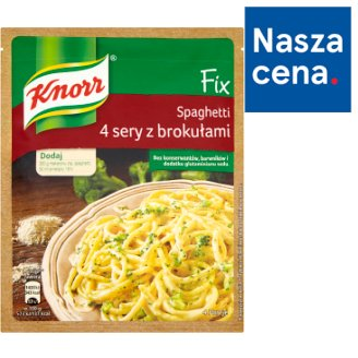 Knorr Fix Spaghetti 4 Cheese with Broccoli 43 g