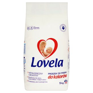 Lovela Colour Hypoallergenic Washing Powder 5 kg (40 Washes)
