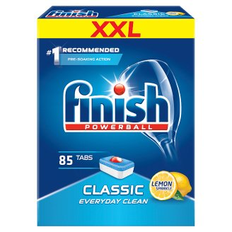 Finish Classic Lemon Dishwasher Detergent in Tabs 1385.5 g (85 Pieces)