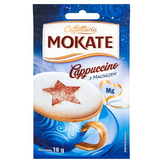 Mokate Caffetteria Cappuccino with Magnesium 18 g