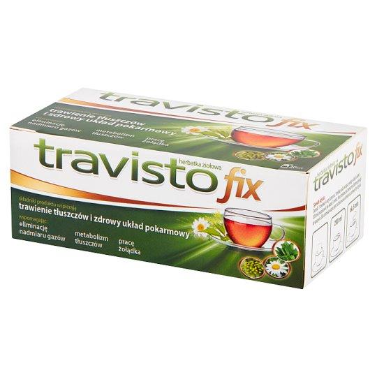 Travisto Fix Herbal Tea 30 g (20 Pieces)