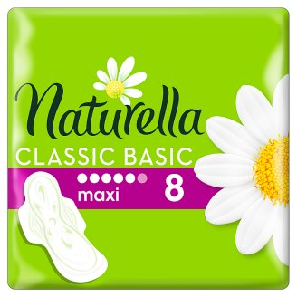 Naturella Sanitary Towels Classic Basic Maxi Camomile 8 Pads