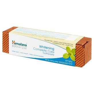 Himalaya Botanique Complete Care Simply Peppermint Whitening Toothpaste 150 g