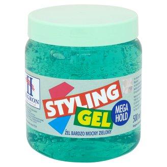 Hegron Żel do włosów bardzo mocny zielony 500 ml
