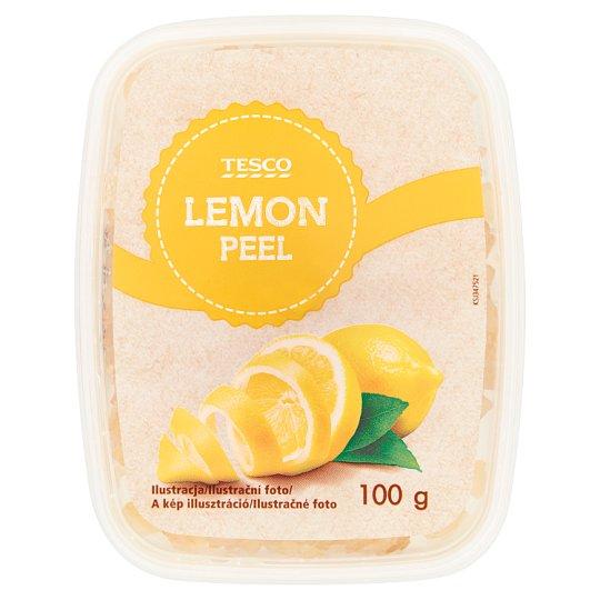 Tesco Skórka cytrynowa kandyzowana 100 g