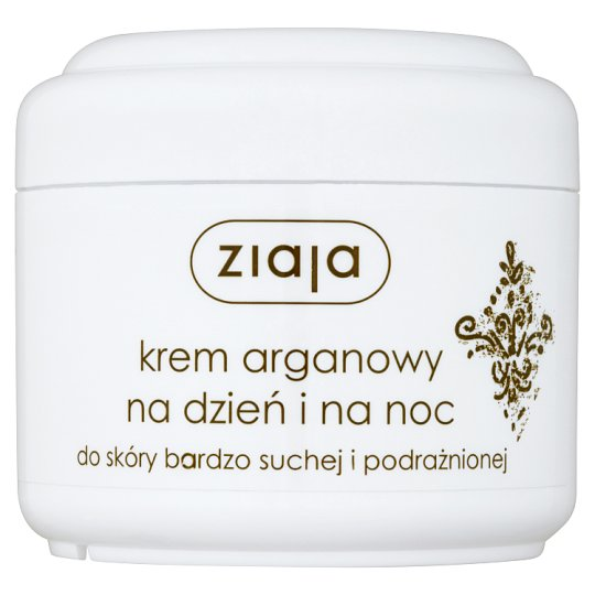 Ziaja Night and Daily Argan Cream for Dry and Irritated Skin 75 ml