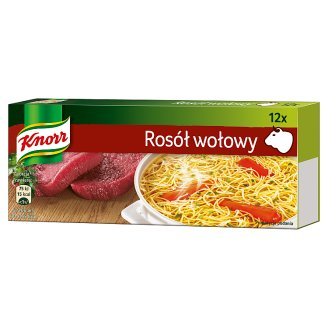 Knorr Beef Stock Cube 120 g (12 Cubes)